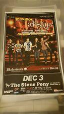 Alesana Concert Poster