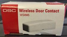 Brand New DSC WS4945 Wireless Door/Window Transmitter, Magnet & Battery included