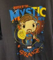 Funko Pop Marvel Dr. Strange Master Of The Mystic Arts T-Shirt Black X - Large