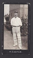 SMITH - CRICKETERS (1-50) - #18 H CARTER