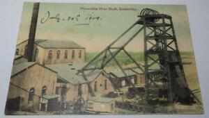 KIMBERLEY SOUTH AFRICA WESSELTON MINE SHAFT COLLIERY  1909       849