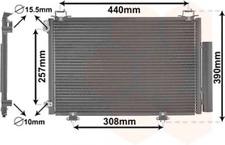 Kondensator, Klimaanlage für Klimaanlage VAN WEZEL 53005267