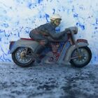 BRITAINS 9696 TRIUMPH SPEED TWIN 500 MOTORCYCLE AND RIDER FOR RESTORATION