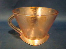 Depression Glass Jeannette Floragold Louisa Cup @9
