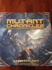Mutant Chronicles miniatures board game Starter Set by FFG; NEW in shrink