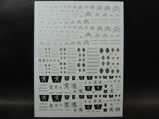 DECALS 1/43-1/32-1/24-1/18  NEW LOGOS CITROËN - RENAULT - PEUGEOT -  T246