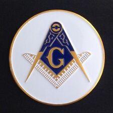 "Masonic Car Auto Emblem (2"") M2A-1"