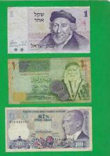 MIDDLE EAST MIX ~ 3 X OLD PAPER MONEY LOT # 3960 (*-*)