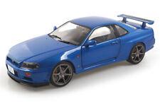 Nissan R34 GTR blau Solido 1:18 S1804301