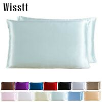 100% Pure Silk Comfort 19 Momme Anti-Ageing Cushion Cover Pillowcase Unique Nice