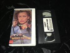Under the Gun (VHS, 1988) 1st Magnum Cult Jones/Vanessa Williams Action *NO DVD*