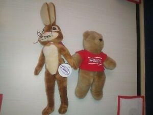 Cadbury caramel bunny & walkers crisps bear