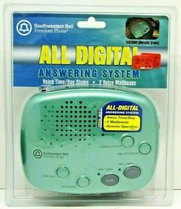 Southwestern Bell FA970MG Answering System All Digital 2 Voice Mailboxes NEW