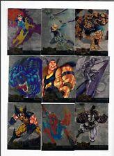 Marvel Metal 1995 Fleer GOLD Blasters 18 card  Set