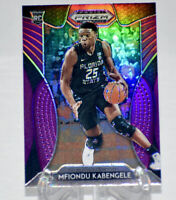 2020 Panini Prizm Draft Picks MFIONDU KABENGELE Purple Holo SP FSU #91 CLIPPERS