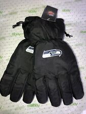 Forever Collectibles NFL Seattle Seahawks Utility Gloves Fleece Lining L XL Mens