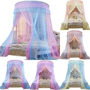 Dome Mosquito Net Princess Canopy Fly Insect Protect Bed Tent For Double Size