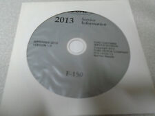 2013 FORD F150 F-150 TRUCK Service Shop Repair Information Manual CD NEW