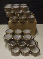 Lot de 36 rouleaux de ruban adhésif havane qualitée standard