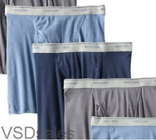 10 Blue Gray Red Fruit Of The Loom Boxer Briefs Small S 30-32 Inch C/P 76-81 CM