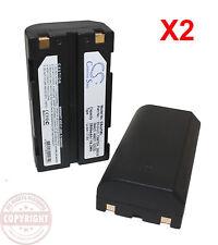 2 GPS BATTERY FOR TRIMBLE 5700,5800,R6,R7,R8,SPS780,SPS880,Epoch,TSC1,EI-D-LI1