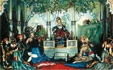 India dolls costumes postcard
