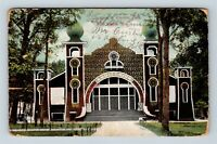 Fort Smith AR, Auditorium, Electric Park, Arkansas, Vintage Postcard Z63