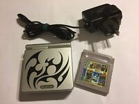 NINTENDO GAME BOY ADVANCE SP TRIBAL CONSOLE +CARTRIDGE CASTLEVANIA II BELMONT'S
