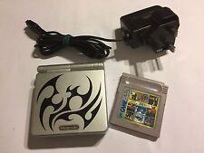 Nintendo Game Boy Advance SP Tribal Konsole + Cartridge Castlevania II Belmont's