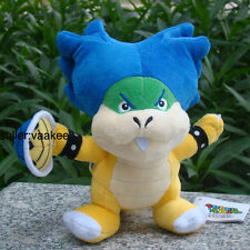 Super Mario Bros Bowser Koopalings Ludwig Koopa Turtle Shell Plush Toy Doll 8""