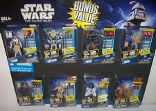 Retired nisp Star Wars CLONE WARS Walmart Exclusive 8 Multi Figure Pack (set B)