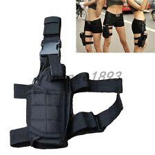 Black Motorcycle Bike Cycling Men Sport Waterproof Leg Bag Waist Pack Wallet