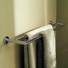 "Ginger Motiv 0222-24-SN Sine 24"" Double Towel Bar, Satin Nickel"