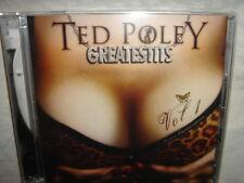 TED POLEY GREATEST HITS V1 GREATESTITS 2 CD SET SEALED DANGER DANGER REISSUE NEW