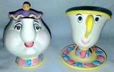 Beauty & The Beast Mrs. Potts Chip Disney Figurines