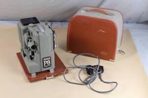 EUMIG Wien Type P8 Imperial Vintage Film Projektor + Koffer - 1950er/ 60er  /S52