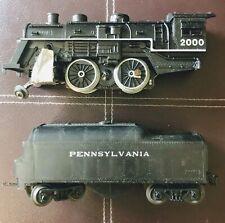 2 VTG Lionel Train Pennsylvania Tender roller makes sound O Gauge & 2000 engine