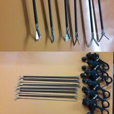 Laparoscopic Grasper Scissor Dissector Forceps Surgical Instruments Set 6Pc 5mm