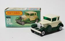 Matchbox Superfast No. 73, Model 'A' Ford, - Superb Mint Condition.