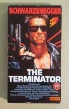 arnold schwarzenegger  THE TERMINATOR   VHS VIDEOTAPE  uk edition