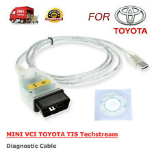 MINI VCI Interface FOR TOYOTA TIS Techstream Car OBDII Diagnostic Cable Scanner