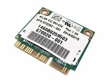 Intel Advanced-N 6235 6235ANHMW Bluetooth 4 WIFI Half MINI PCI-E Card 670292-001