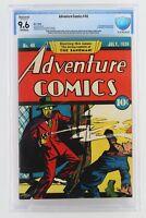 Adventure Comics #40 -NEAR MINT- CBCS 9.6 NM+ (Restored) DC 1939 1st App Sandman