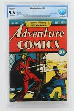 Adventure Comics #40 -NEAR MINT- CBCS 9.6 NM+ (Restored) DC 1939 1st App Sandman