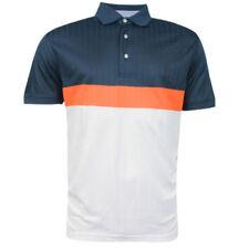 Camisas y polos de hombre de manga corta azul Tommy Hilfiger