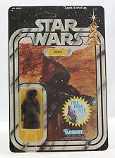 Vintage Star Wars Jawa MOC - 20 Back EXTENDED OFFER Clear and Unpunched Kenner