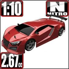 Redcat Racing Lightning STR 1/10 Scale Nitro On Road Car METALLIC-RED Color