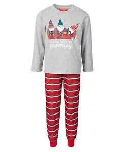 Family Pajamas Matching Kids Gnomies Family Pajama Set size 10-12