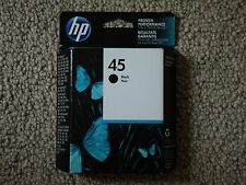 2019 GENUINE HP 45 INK CARTRIDGE BLACK 51645A NEW FRESH FACTORY SEALED BOXES