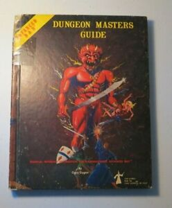 TSR AD&D 1st Edition - DUNGEON MASTERS GUIDE 1979 DMG Dungeons and Dragons